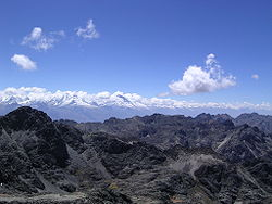 Cordillera Blanca and Cordillera Negra in the Ancash Region
