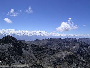 Áncash Region - Cordillera Blanca and Cordillera Negra in the Ancash Region