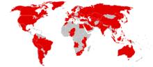 Map of Wanna Cry affected countries