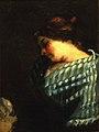 "Courbet - Study for ""La fileuse endormie"", c. 1853.jpg"