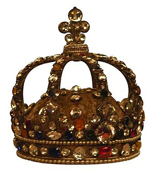Laurent Ronde - Louis XV's crown.