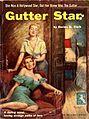 Cover of Gutter Star by Dorine B. Clark - Illustration by Frank Uppwall - Intimate Novel 1954.jpg