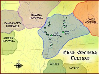 Hopewell tradition - Crab Orchard culture