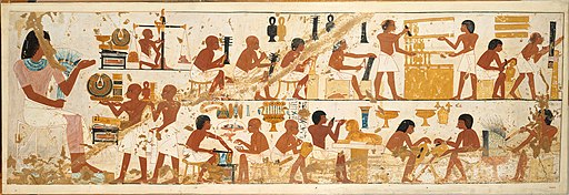 Craftsmen, Tomb of Nebamun and Ipuky MET DT10888