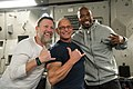 Craig Morgan, Robert Irvine and Richard Hamilton 180420-D-SW162-1201 (41550974162).jpg