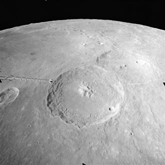 Theophilus (crater) - Image: Crater Theophilus