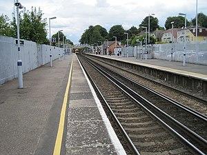 Crayford railway station - Image: Crayford railway station, Greater London