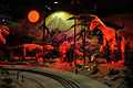 Cretaceous Period - Dark Ride - Science Exploration Hall - Science City - Kolkata 2016-02-22 0381.JPG
