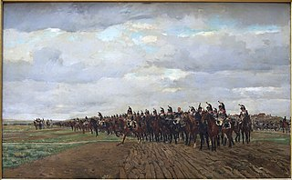 1805, Cuirassiers Before the Charge