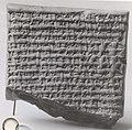 Cuneiform tablet- dialogue document concerning succession and inheritance MET ME86 11 167.jpg
