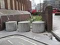 Curious concrete blocks in Little Somerset Street - geograph.org.uk - 1836704.jpg