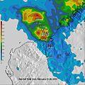 Cyclone Rusty 2013 rainfall.jpg