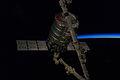 Cygnus 2 captured by Canadarm2 (ISS038-E-028055).jpg