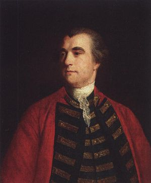Cyrus Trapaud - Colonel Cyrus Trapaud, by Joshua Reynolds, circa 1760