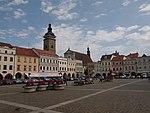 Czeskie Budziejowice - fragment rynku.jpg