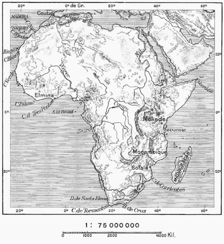 """Résultat de recherche d'images pour """"carte de l'Afrique de 1529"""""""