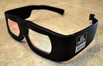 Dolby 3D - Image: DD3Dglasses