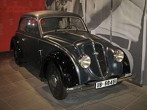 DKW Typ 4=8 - DKW Schwebeklasse 1935–1937