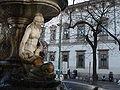 DSC02929 - Milano - Piazza Fontana - La fontana - Foto di Giovanni Dall'Orto - 29-1-2007.jpg
