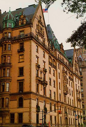 The Dakota - Facade of the Dakota
