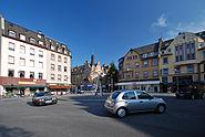 Dalbergplatz Hoechst von Nordwesten