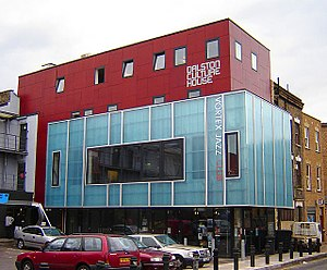 Dalston - The Dalston Culture House now houses the Vortex Jazz Club. (October 2005)