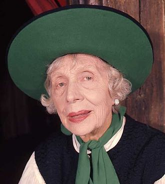 Edith Evans - Dame Edith Evans in a 1973 portrait