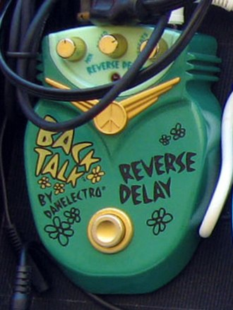 Danelectro - Dan-O-Wah pedal, Sitar Swami, and Back Talk Reverse Delay.