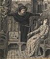 Dante Gabriel Rossetti - Hamlet and Ophelia.JPG