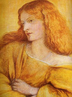 Dante Gabriel Rossetti - Woman in Yellow.jpg