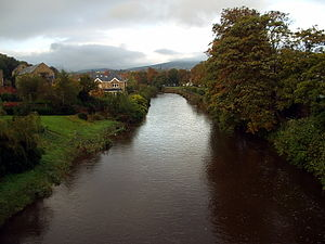 River Dargle - River Dargle in Bray, County Wicklow
