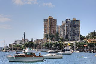 Darling Point, New South Wales Suburb of Sydney, New South Wales, Australia