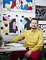 Darren John in his London Studio.jpg