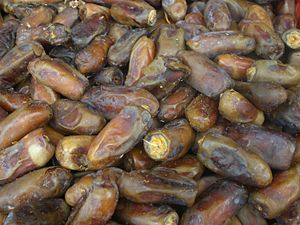 Bahraini cuisine - Dried dates.