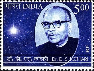 Daulat Singh Kothari - Kothari on a 2011 stamp of India