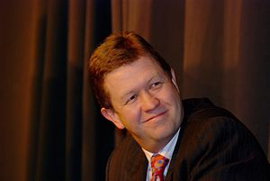 David Cunliffe at the NZ Open Source Awards, 2007