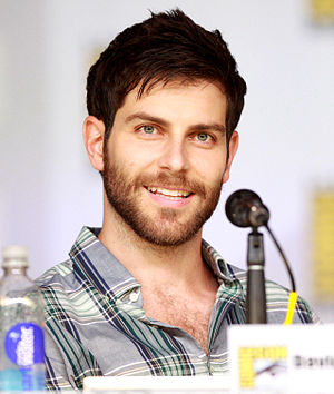 David Giuntoli - Giuntoli at San Diego Comic-Con, 2014.