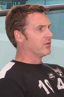 David Kaye at an autograph session at Botcon 2008 in Cincinnati, Ohio (Cropped).jpg