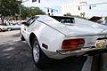 De Tomaso Pantera 1972 white DownLSide LakeMirrorClassic 17Oct09 (14600537285).jpg