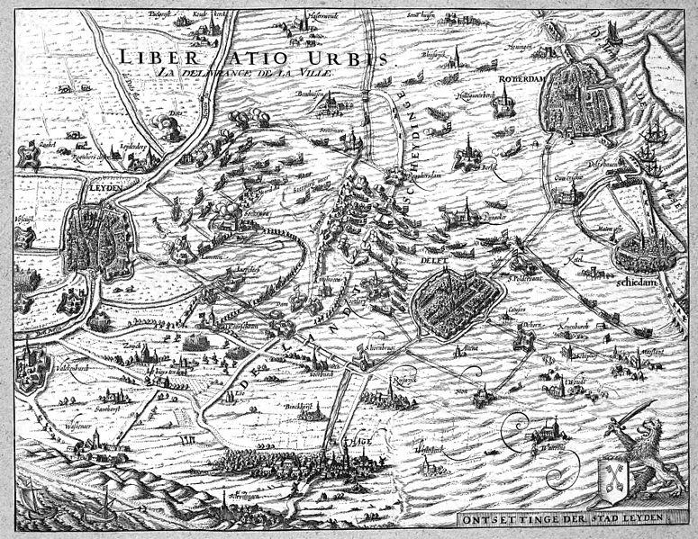 File:De ontzetting van de stad Leiden in 1574.jpg