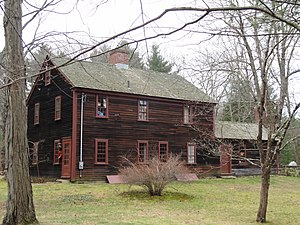 Deacon William Leland House - View of the rear of the house