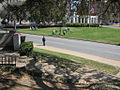 Dealey Plaza as seen from the Grassy knoll.jpg