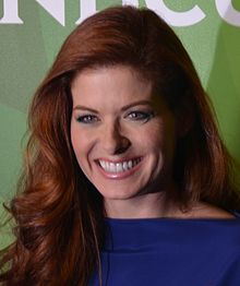 Debra Messing 2014.