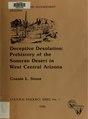 Deceptive desolation -prehistory of the Sonoran Desert in west central Arizona (IA deceptivedesolat00ston).pdf