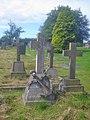 Decorative gravestone in Packington churchyard - geograph.org.uk - 1526808.jpg