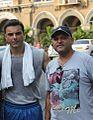 Deepak Bhanushali on the location of ONCE MORE STUDIOS of Jai ho with Sohail Khan.jpg