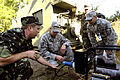 Defense.gov News Photo 100902-F-8757F-020 - U.S. Airmen with 1st Combat Communications Squadron Ramstein Air Base Germany help Ukrainian soldiers with communication equipment during.jpg