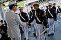 Defense.gov News Photo 110521-N-TT977-393 - Chairman of the Joint Chiefs of Staff Adm. Mike Mullen U.S. Navy congratulates cadets during commencement ceremonies at the U.S. Military Academy.jpg