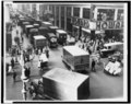 Delivery trucks jamming West 37th Street, looking west from 7th Avenue, New York City (3c11255).tif