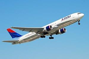 Delta Airlines (N394DL), Boeing 767 Spotting i...